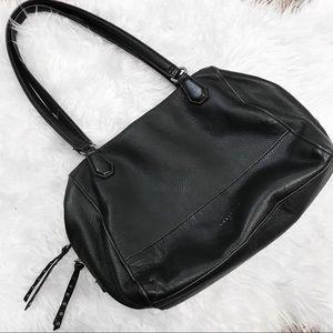 Liebeskind Berlin Black Leather Shoulder Satchel